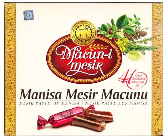 MANİSA MESİR MACUNU SPECİAL İKRAMLIK 350 GR