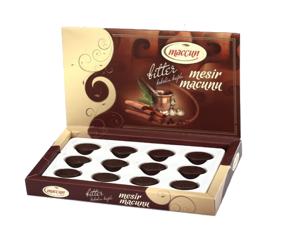 Mesir Çikolatası 120 Gr Hediyelik (Özel Firma Dernek Dışı )